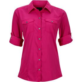 Marmot Annika LS Shirt Damen bright fuchsia
